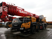 China SANY used crane 100 truck crane for sale