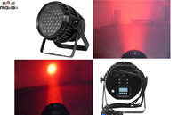 2014 Professional With zoom function 54X3W RGBW outdoor led par light