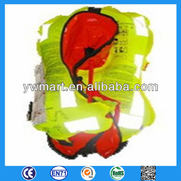 automatic marine inflatable life vest jacket