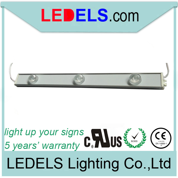 24v 1200lm 15w led inside high power led light bar for double side light box