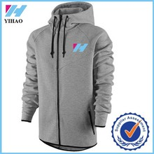 Yihao trade assurance print hoodies for men Hooded Korean Slim Fit zipper Hoodie man fashion hoodyJackets china
