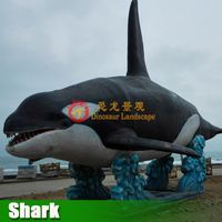 Hot sale High Quality Outdoor indoor Used Fiberglass Shark