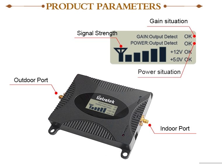 GSM booster, signal booster, full set 900mhz signal booster