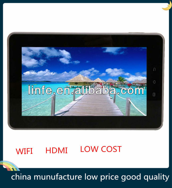 "Low Cost 7"" Google Android 4.2 Tablet PC Capacitive Touch Screen Camera 3g phone call Wifi Dual Core"