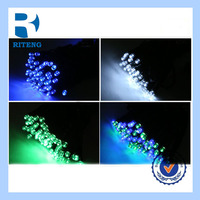 outdoor led christmas meteor rain light sticks set