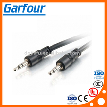 Custom length high quality 3.5mm jack audio stereo cable