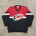 Carolina Hurricanes Red-black Autumn Fans Hockey Wear Couple Clothing Fashion School Uniforms