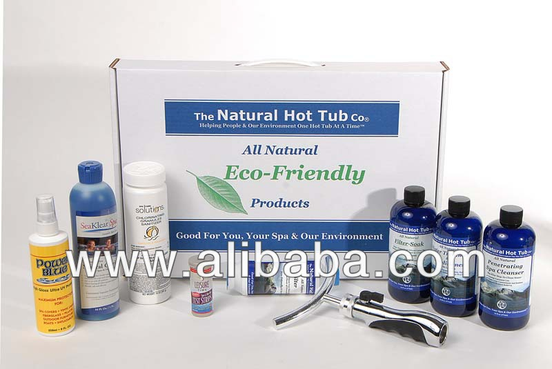 The Natural Hot Tub Company's - Deluxe Hot Tub Package