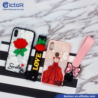 New product China supplier mobile back cover cell phone case for iphonex/celular