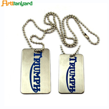 Cheap custom shape anodized aluminum dog tag made in china