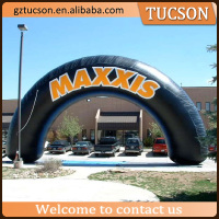 Advertising logo printing customized inflatable arch for promotion