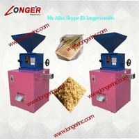 brown rice shelling machine/rice husk removing machine