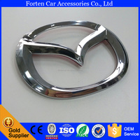 Custom Chrome M3 ABS Car Decoration Pin Badge Emblems for Mazda