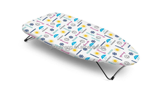 Mini stainless steel laundry foldable ironing board