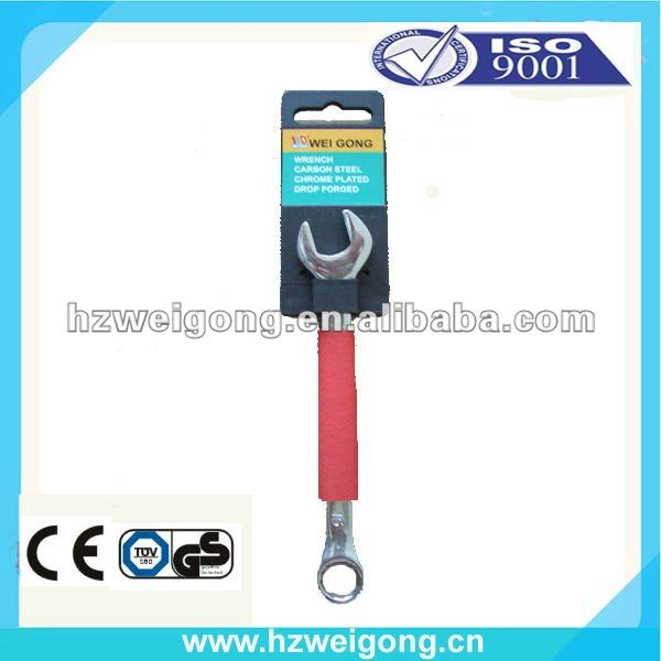 Drop Forged Mirror Polishing carbon steel material types of spanner Wrench