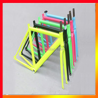 New design anodized color Mountain aluminum track bike frame