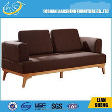 HIGH DENSITY FOAM FABRIC SOLID WOOD LEG SOFA S012-R4001