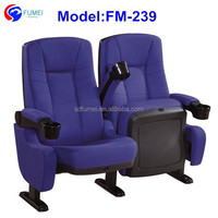 Best price reclining cinema chair with cup holders for sale