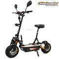 China 1000w 2 wheel electric scooter , evoking scooter with folding design
