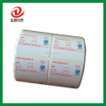 custom self adhesive paper sticker label printing