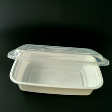 Food Grade American style clear 750ml rectangular Fancy Fashionable Cylinder Print Static-Free Plastic Food Packing Boxes