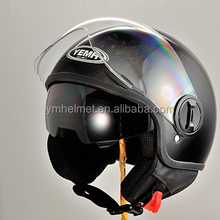 ECE approved wholesale cheap price helmet open face with single visor motorcycle helmet