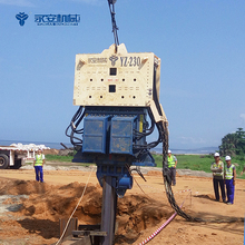 High Efficient Hydraulic Piling machine YZ 230 Piling Machine,Piling Equipment,Piling Rig