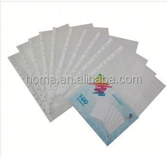 Durable reliable inner pockets file card paper
