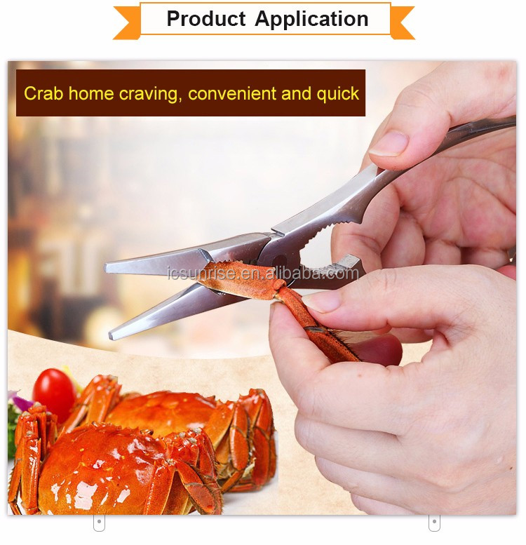 Stainless steel Nuts Plier Seafood cracker