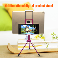Mini Tripod With Phone Holder,Mobile Clip Universal Camera Tripod Stand Holder Phone