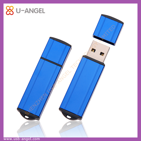 factory selling custom usb storage,high quality oem bule metal usb flash disk 4gb lighter usb pen drive