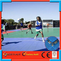 interlocking football court flooring price factory
