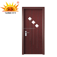 Left Swing Opening cheap storm door SC-P109