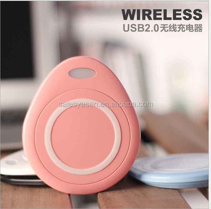 Universal Wireless charging transmitter board base wireless charger with indicator High speed QI standard power charging adapter