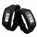 2017 Amazon Hot Sell Walking Run Step Distance Calorie Counter Smart Watch Bracelet Pedometer