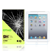 high transparency LCD display glass screen guard for iPad anti scratch screen protector