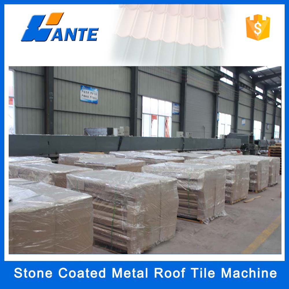 Roofing Tile Stone Chip Coated Metal Roof Tile Suppliers