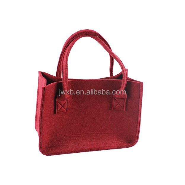 Wholesale felt tote bag shopping bag from Shanghai Jinwang