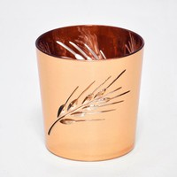 Modern Design Plastic Copper Bathroom Cup for Gargling