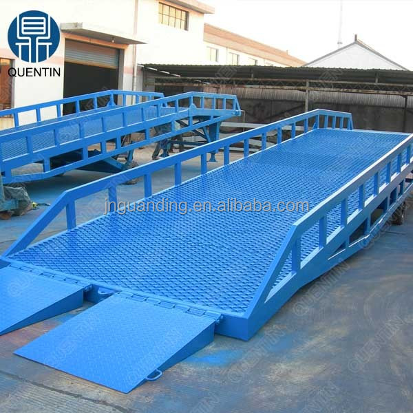 10ton Factory direct hydraulic container loading dock ramp lift hydraulic car ramps for sale