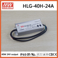 HLG-40H-24A Meanwell 40W led driver 24V for led street lighting