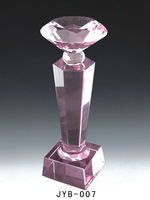 custom particular dove diamond shaped crystal trophy
