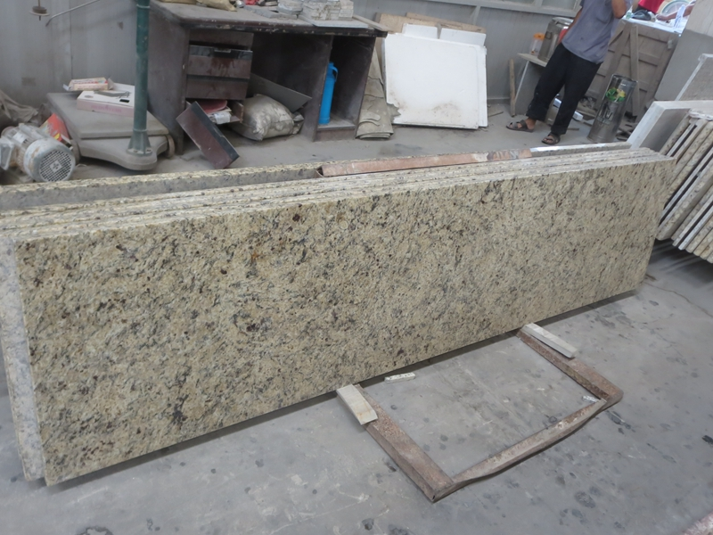 desert gold granite countertops Venetian Gold yellow granite kitchen countertop price