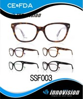 new model fashion acetate optical frame spectacles
