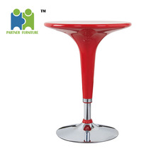 (DANAS) quality durable color customized ABS Plastic high bar table