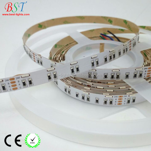 LED Tape Lights side emitting SMD3014 SMD335 SMD020 RGB 3in1 60LEDs/M DC12V/DC24V rgb side view led strip