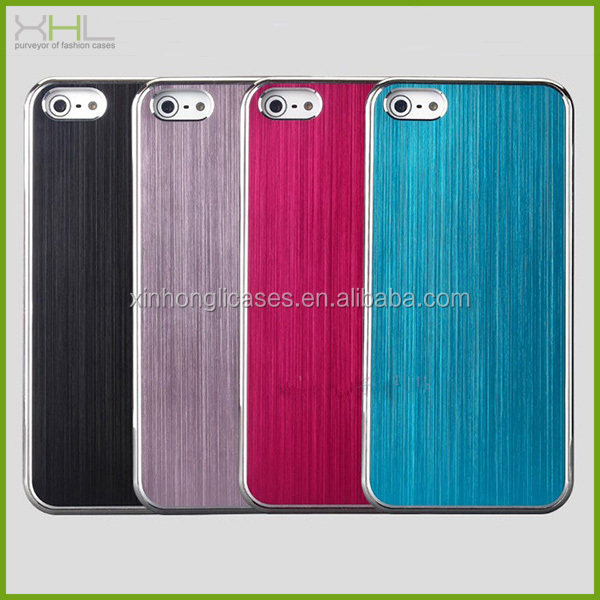 Hot selling aluminum chorme mobile phone case for iphone 5