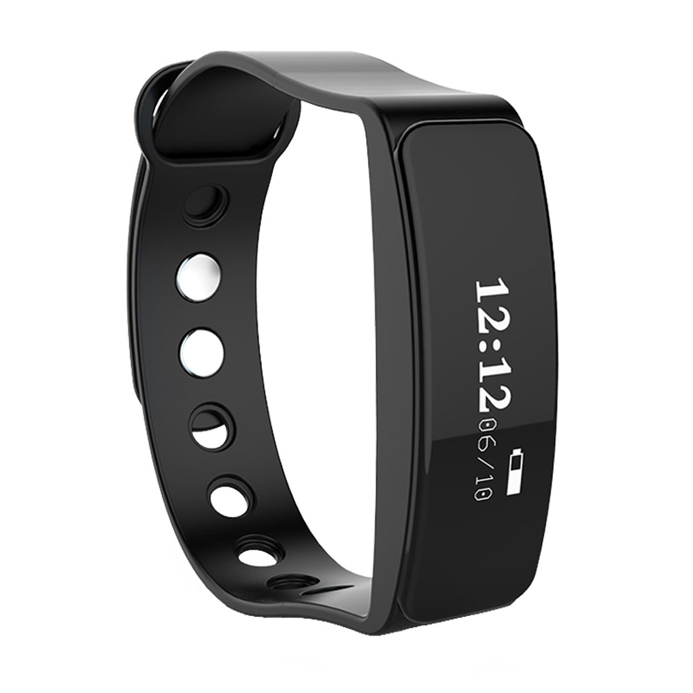 TLW05 Sleep Monitoring Smart Bracelet Heart Rate Pulse Monitor Bluetooth 4.0 Smart Wristband LED Screen Bracelet Pedometer