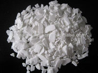 Ice melting agent Calcium chloride flakes high quality made in China