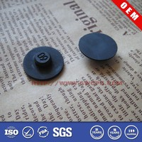 Custom round protective durable non slip rubber appliance feet